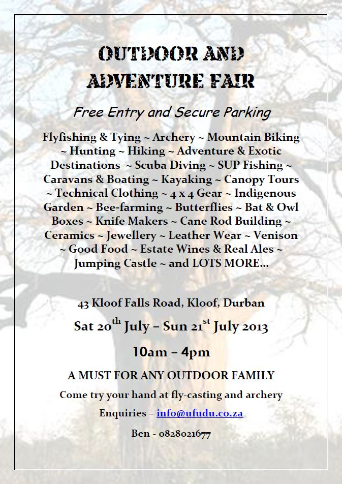 Outdoor and adventure fair